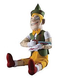 sawin wood doll animatronic - Spirit Halloween Props