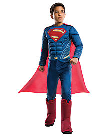 Kids Superman Costume Deluxe - Batman v. Superman: Dawn of Justice