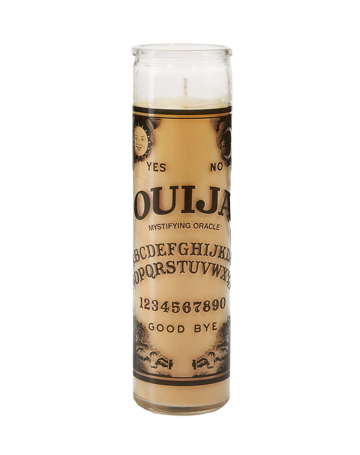 Ouija Board Candle