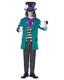 adult mad as a hatter costume - Classic Mens Halloween Costumes