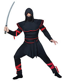 Adult Hooded Stealth Ninja Costume