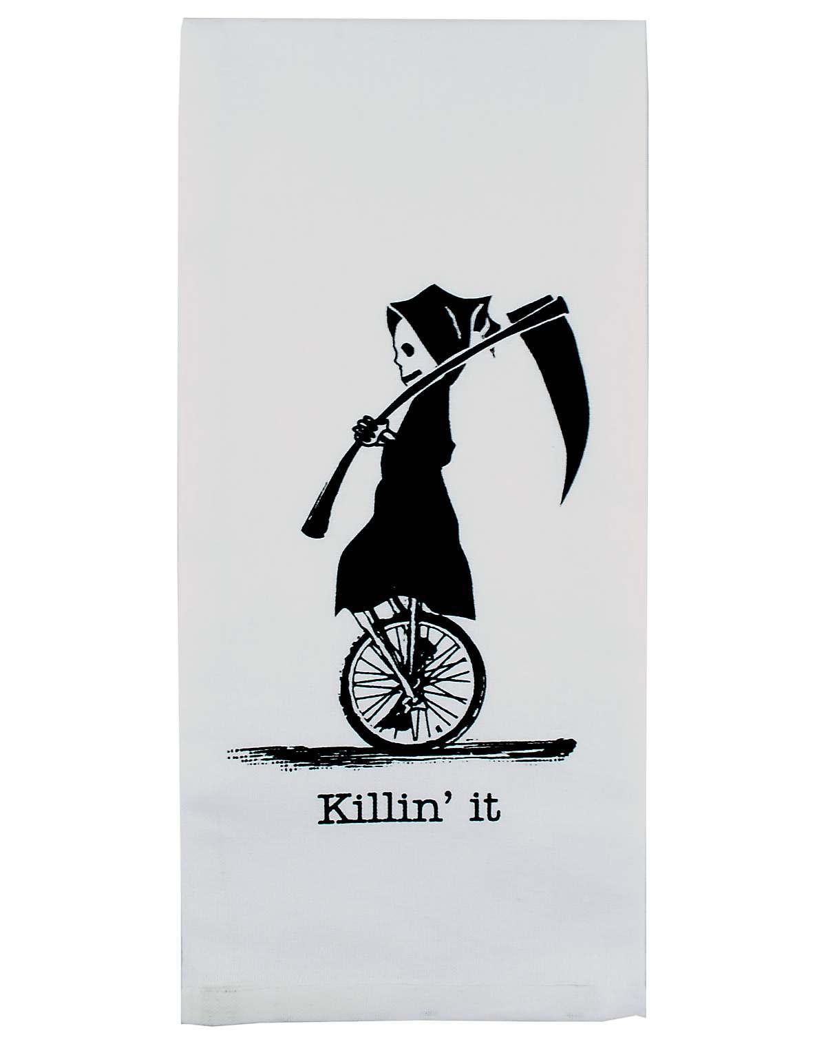 Reaper Dish Towel