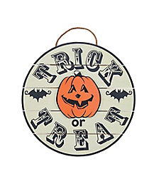 Trick or Treat Sign - Decorations
