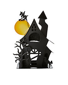 Haunted House Candle Holder - Decorations