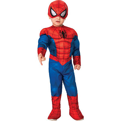 Toddler Spider-Man One Piece Costume