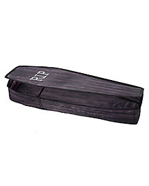 3 Ft Collapsible Black Coffin - Decorations