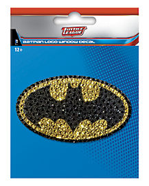 Batman Logo Window Decal - DC Comics