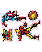 Marvel Decal 16 Pack - Marvel