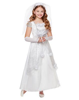Steampunk Kids Costumes | Girl, Boy, Baby, Toddler Kids Bride Costume by Spirit Halloween $29.99 AT vintagedancer.com