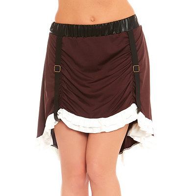 Victorian Steampunk Clothing & Costumes for Ladies Adult Steampunk Skirt $24.99 AT vintagedancer.com