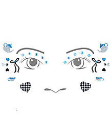 Kids Alice in Wonderland Face Decal