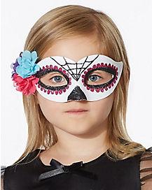 Kids Decorated Skull Mask