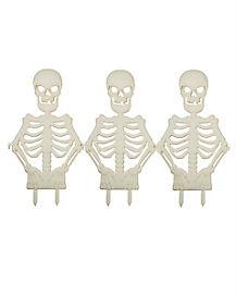 1.5 Ft Skeleton Torso Fence - Decorations