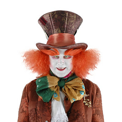 Steampunk Clothing- Men's Mad Hatter Wig with Hair - Alice Through the Looking Glass $29.99 AT vintagedancer.com