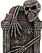 3 Ft Skeleton Hug Tombstone - Decorations