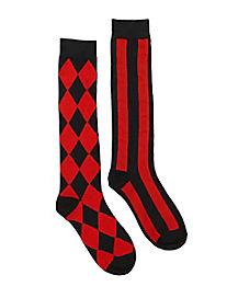 Jester Knee High Socks