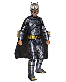 Kids Armored Batman Deluxe Costume- Batman v Superman Dawn of Justice