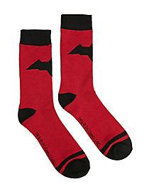 Red Hood Crew Socks - DC Comics
