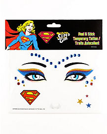 Supergirl Face Decal - DC Comics