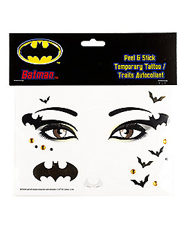 Batman Gold Face Decal - DC Comics