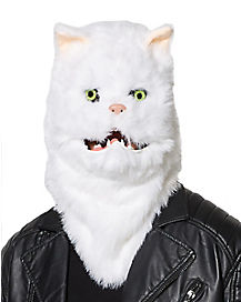 Moving Mouth Cat Mask
