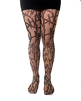 Joker Haha Illusion Tights - DC Comics