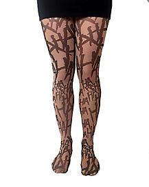 Joker Haha Illusion Tights - DC Comics