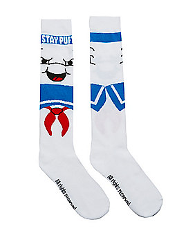 Stay Puft Knee High Socks - Ghostbusters