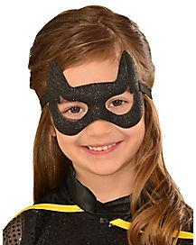 Kids Glitter Batgirl Mask – DC Comics