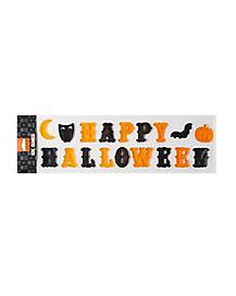 Happy Halloween Window Cling - Decoration