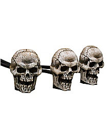 Fogging Skull Trio - Decorations