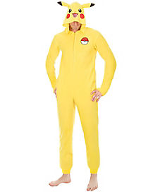 Adult Pikachu Union Suit - Pokemon