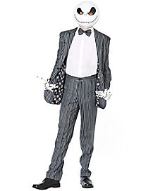 jack skellington costume suit the nightmare before christmas - Halloween Jack Costume
