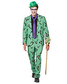 Adult Riddler Costume Suit - DC Comics