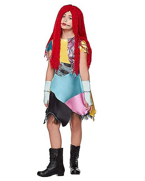 Kids Sally Costume The Nightmare Before Christmas