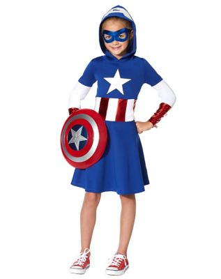 Kids Captain America Dress - Marvel