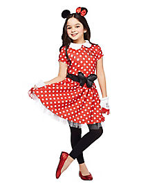 Minnie mouse nerd costume for kids
