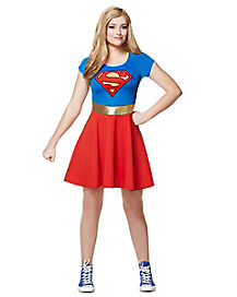 Adult Supergirl Dress - DC Comics