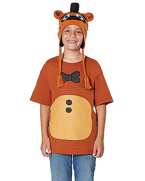 Kids Freddy T Shirt - Five Nights at Freddyu0027s  sc 1 st  Spirit Halloween : kids freddy costume  - Germanpascual.Com