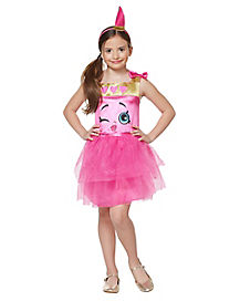 Kids Lippy Lips Costume - Shopkins