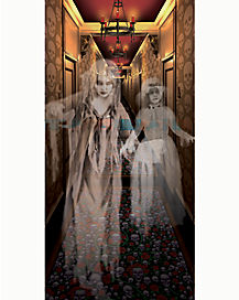 Ghost Girls Hallway Poster - Decorations