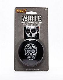 Skeleton White Face Powder