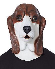 Basset Hound Dog Mask