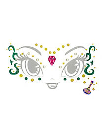 Kids Shine Face Decal - Shimmer and Shine