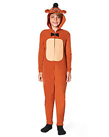 Kids Freddy One Piece Costume - Five Nights at Freddy's