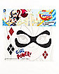Harley Quinn Face Tattoo - DC Super Hero Girls