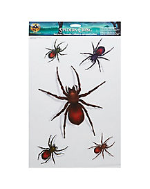 Spiders Cling - Decorations