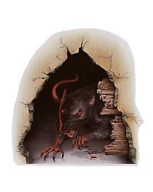Rat Wall Breaker Cling - Decorations