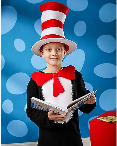 cat in the hat costume dr seuss spirithalloween