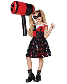 Kids Harley Quinn Dress - DC Comics